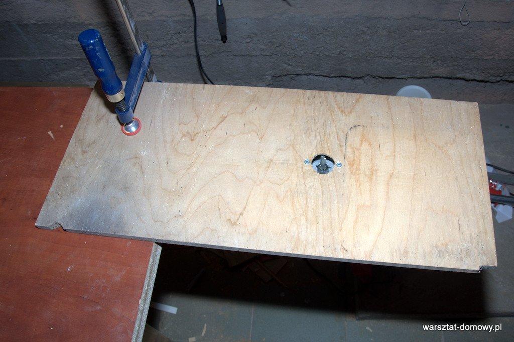 stolik do frezarki górnowrzecionowej