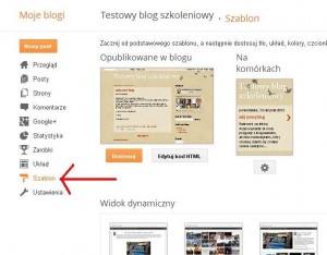 Blogger Testowy blog szkoleniowy Szablon Mozilla Firefox 2013 02 13 122300 300x234 Jak założyć własnego bloga   cz.2   Gadżety