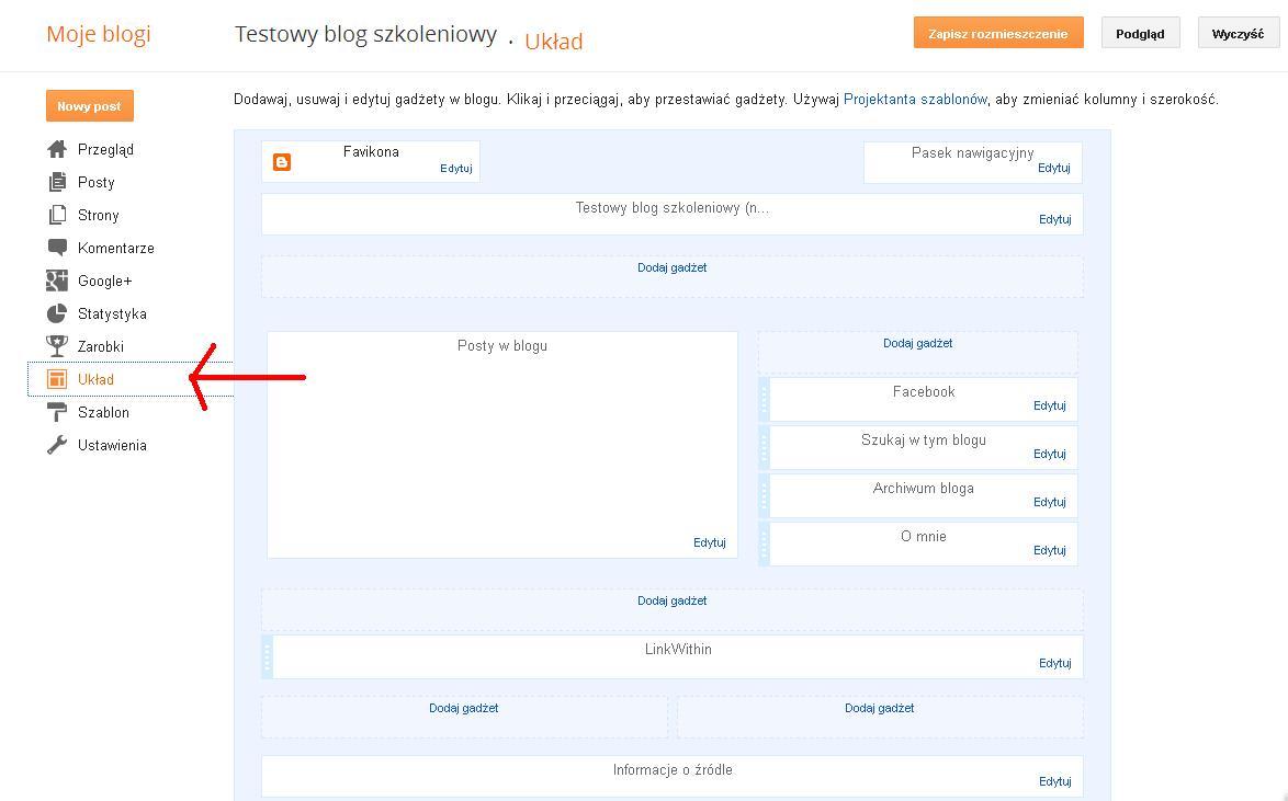 Blogger Testowy blog szkoleniowy - Układ - Mozilla Firefox 2013-02-13 123148