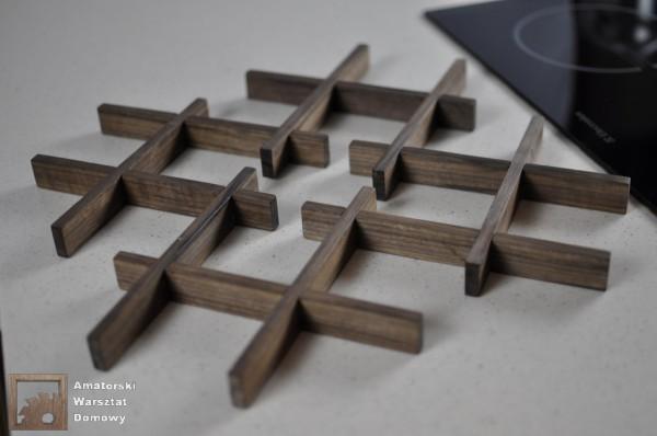 DSC 0146 600x398 Składana podstawka na świąteczny stół   pomysł na prezent