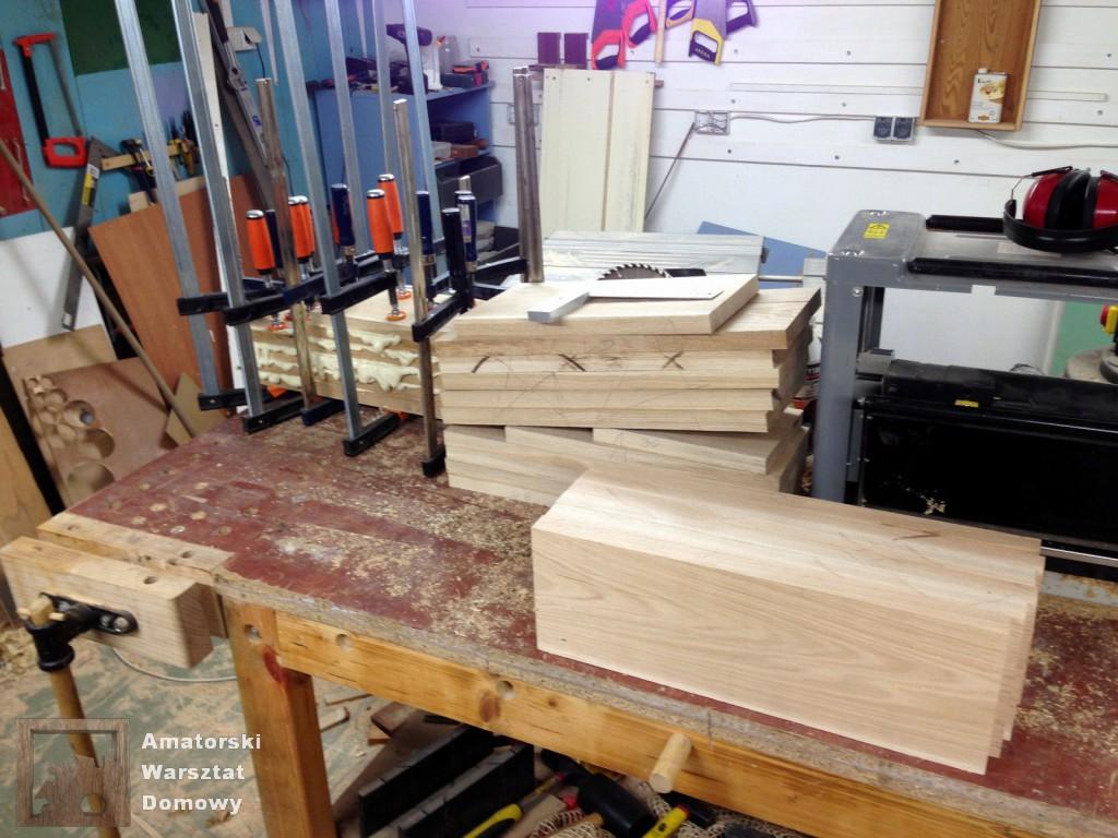 IMG 5488 1024x768 Dębowy stołek według projektu pani Joanny