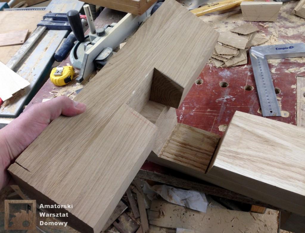 IMG 5588 1024x785 Dębowy stołek według projektu pani Joanny